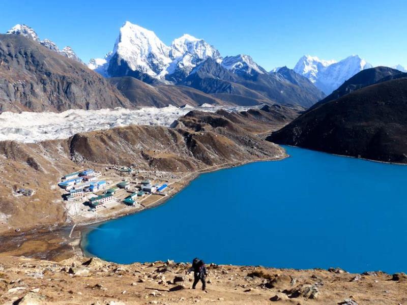 Eines der klassischen Motive im Himalaya