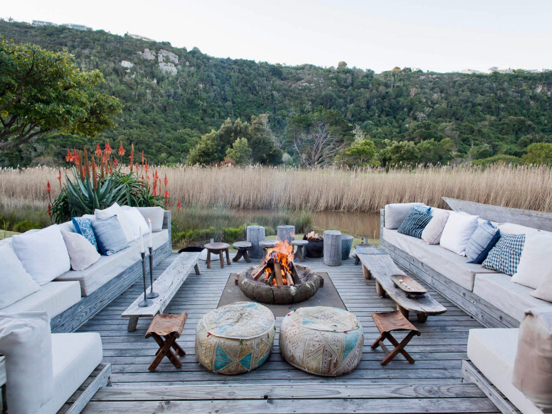 Entspannung nach dem Abendteuer: In unseren Safari Lodges erwartet dich gediegener Komfort.
