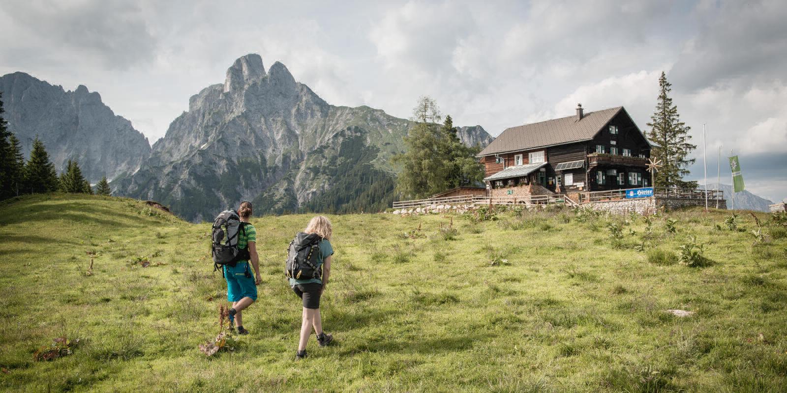 Etappe 01: Admont - Mödlinger Hütte