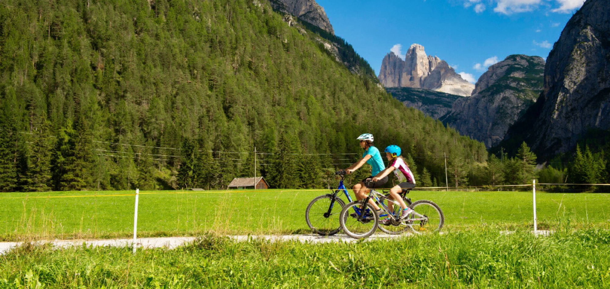 Radfahren ohne Gepäck