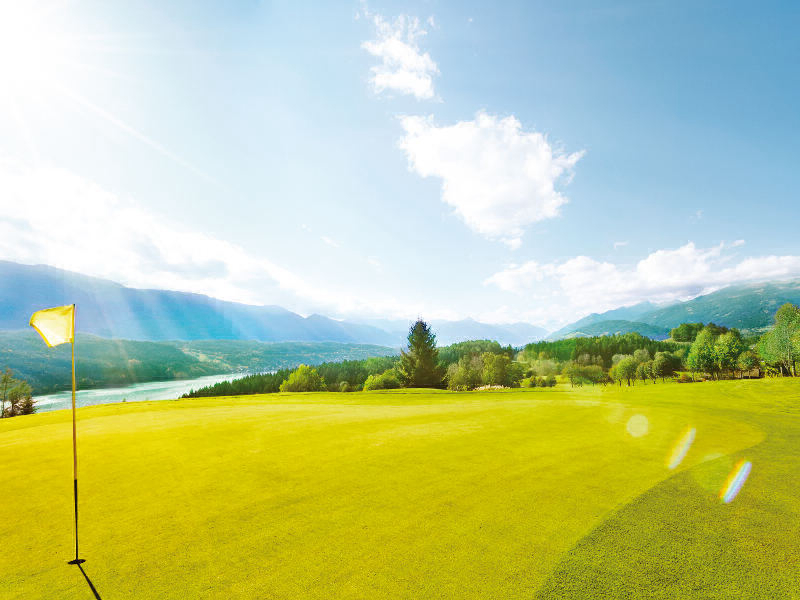 An incomparable journey to the most beautiful golf courses in Carinthia is waiting for you!