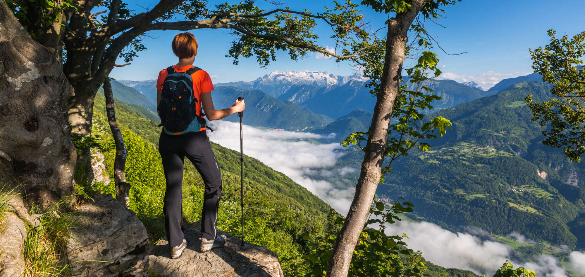 Alpe-Adria-Trail (Slovenia and Italy)