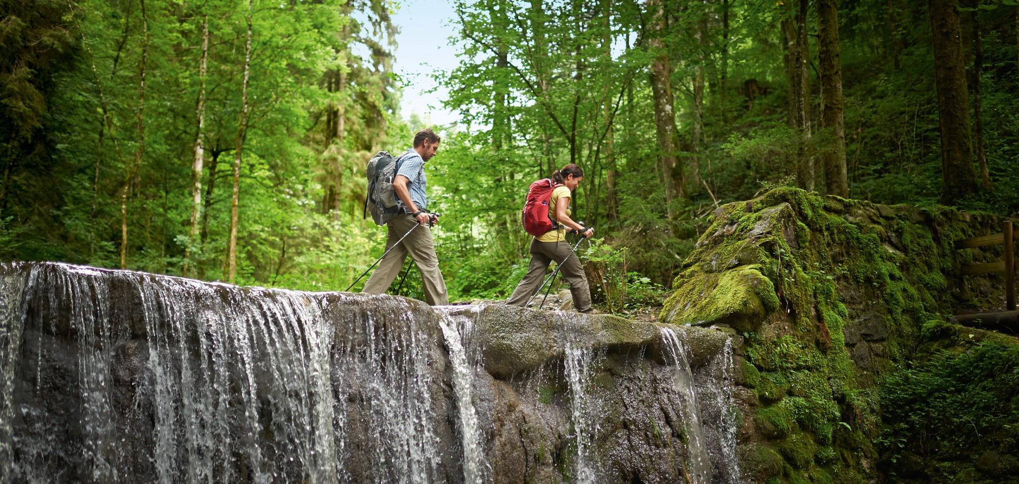 Wasserläufer - Wandertrilogie Allgäu