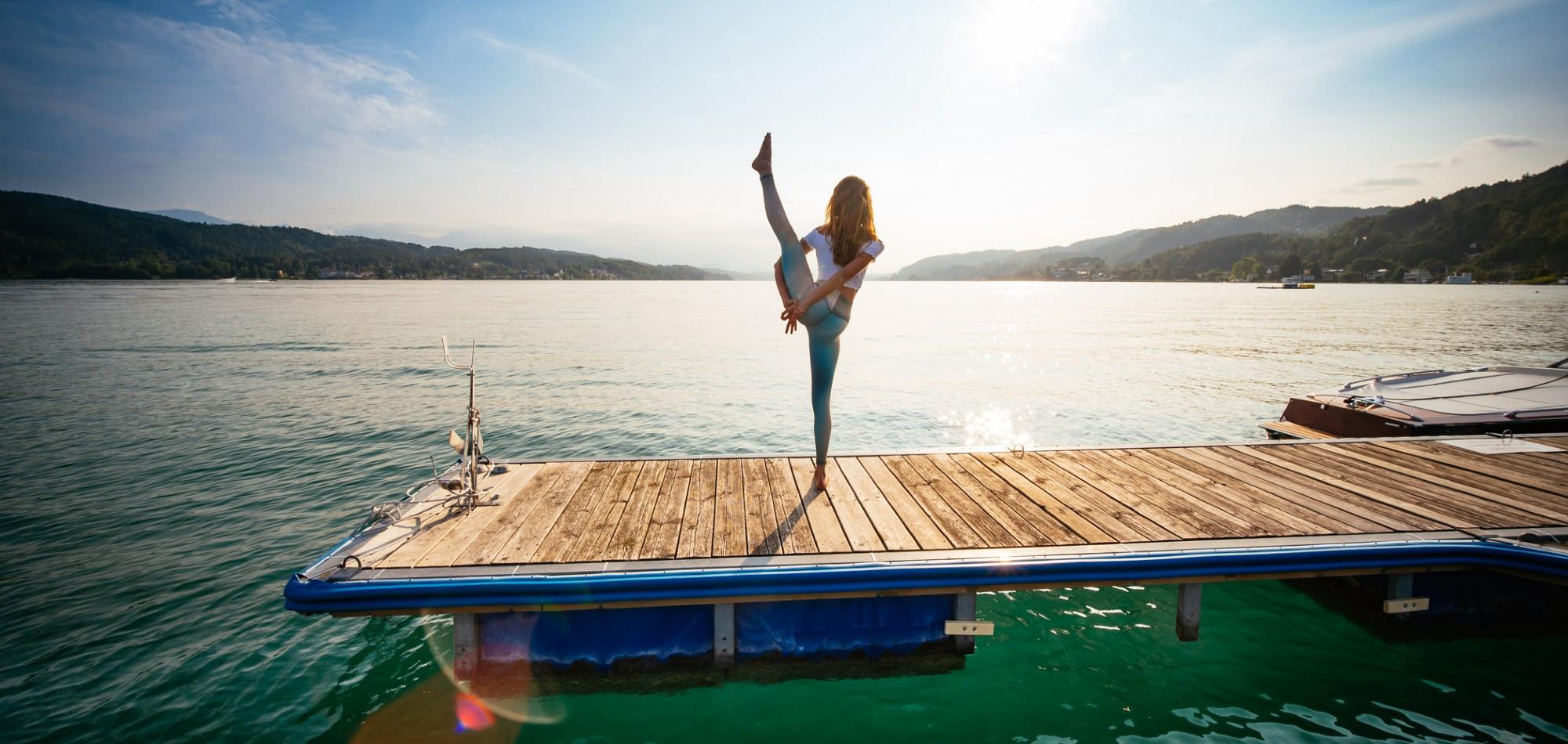 Namaste am See: Wandern & Yoga
