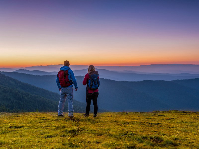 """What a start to the hiking experience """"Trail of Horizons"""